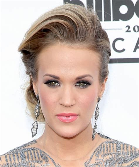 carrie underwood 2014 haircuts carrie underwood updo long straight formal wedding updo