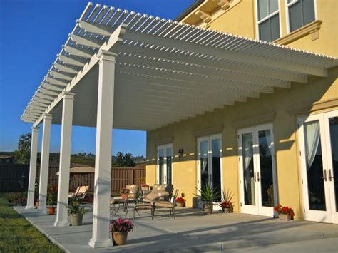 lattice patio cover contemporary patio san diego