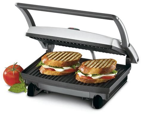 Tefal Toasters Amazon Com Cuisinart Gr 1 Griddler Panini And Sandwich