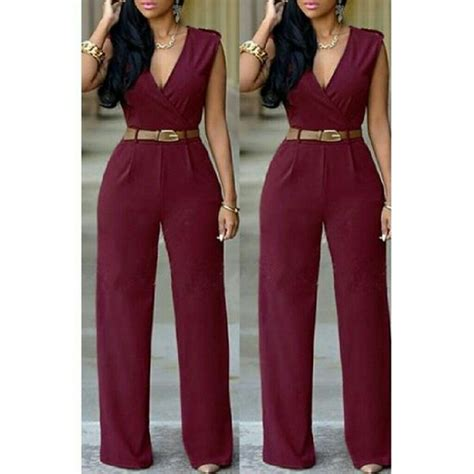 Jumpsuit Maroon Belt 26 best images about styling and profiling on