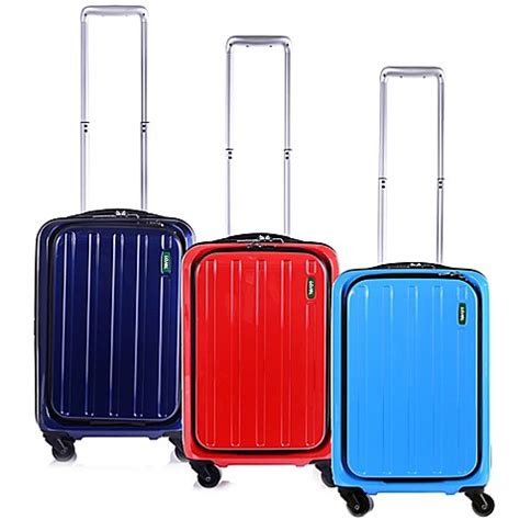 luggage bed bath and beyond lojel lucid 19 5 inch carry on spinner luggage bed bath