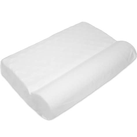 therapeutic bed pillows therapeutic neck pillow in bed pillows