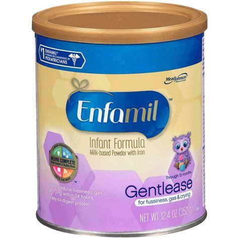 Enfamil Gentle Care By Jayamed enfamil gentlease milk based infant formula for fussiness
