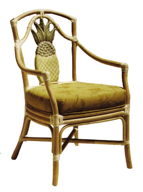 fong brothers co 1012 pineapple arm chair