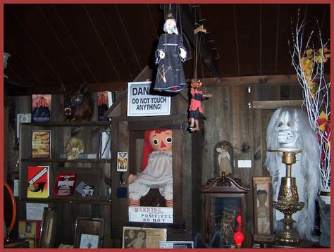 annabelle doll exhibit museum of mystery exhibit 5 based on a true