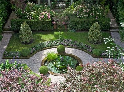 Formal Garden Layout Formal Garden Designs