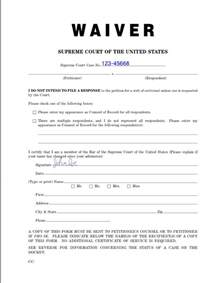 Waiver Templates by Sle Waiver Free Printable Documents