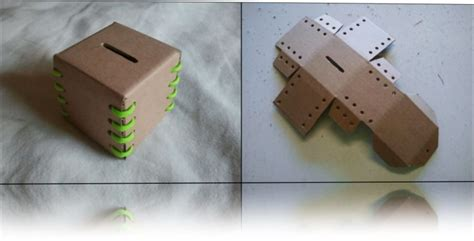 membuat kerajinan tangan celengan cara membuat kerajinan tangan dari kardus bekas beserta
