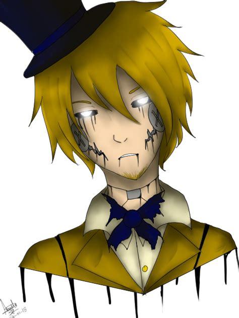 Golden Anime Human Freddy | human golden freddy by darkdeathqueen on deviantart