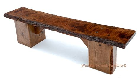slab wood bench slab bench live edge bench natural wood bench barn