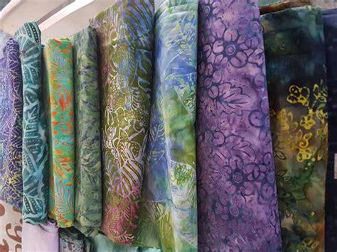 Kain Batik Murah Batik Sogan Tolet Handprint 1 seragam batik jakarta barat dengan katun 100