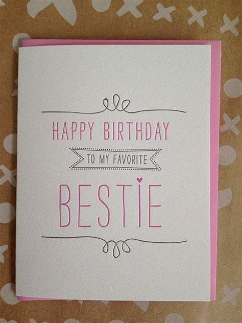 how to make a bff card birthday card for best friend card best friend birthday