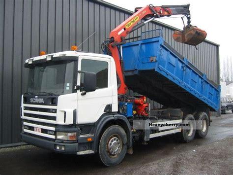 scania 114 g 340 no 124 144 360 6x4 1999 tipper truck