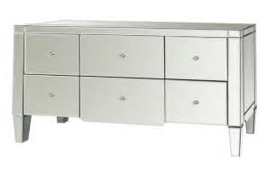 catherine large 6 drawer mirrored dresser by bungalow 5