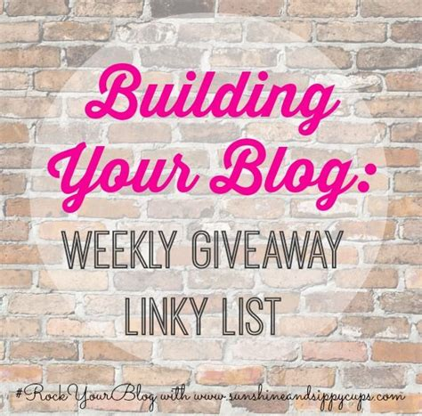 Blog Giveaway Linky - 17 best images about blogathon boost your blog on pinterest logos challenges and