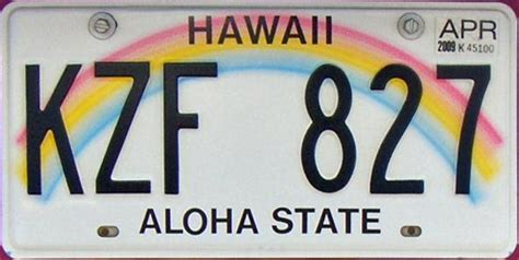 Vanity Plates Hawaii by Top 5 California Road Trip To Play In The Golden