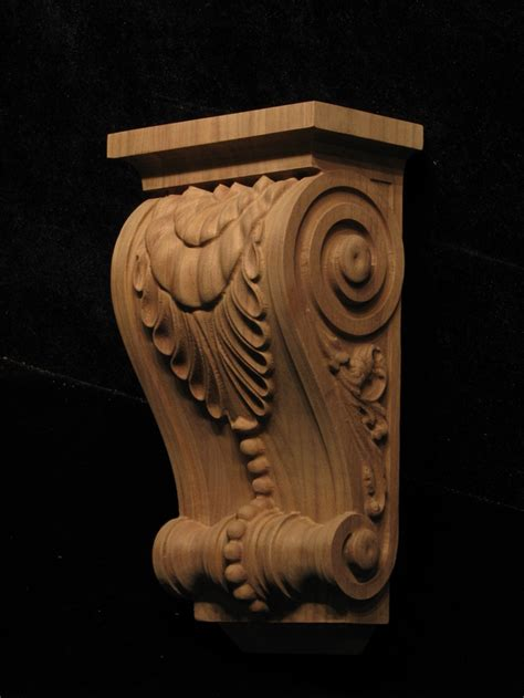 Custom Corbels Custom Corbel Leaf And Bead Corbels And Plinths