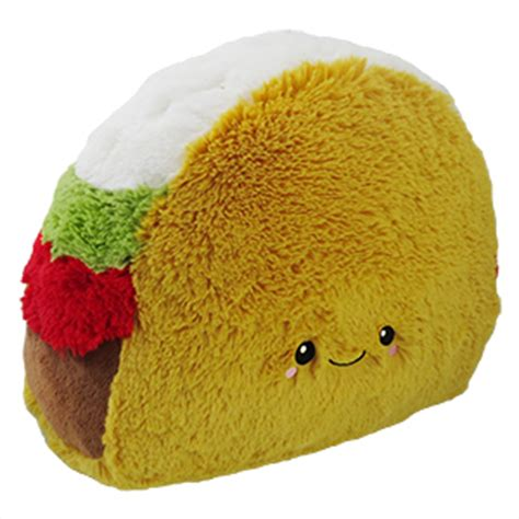 squishable comfort food toast squishable comfort food taco an adorable fuzzy plush to