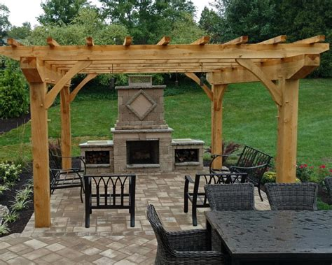 pergola with fireplace 100 outdoor place 49 best outdoor fireplace images