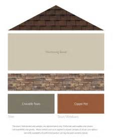 Colors That Match With Brown fresh color palettes for a brown roof