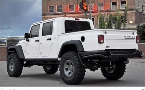 new 4 door jeep truck new brute double cab four door jeep wrangler pickup