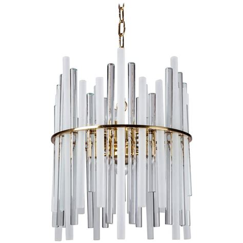 Glass Rod Chandelier Glass Rod Chandelier Circa 1960 For Sale At 1stdibs
