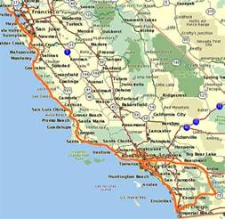 map west coast usa index images frompo