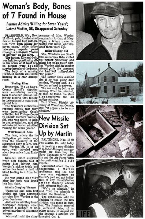 serial killer true crime library serial killers by name 131 best images about serial killer ed gein on pinterest