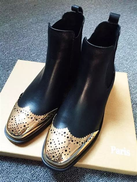 Designer Boots For Fall Winter by 2016luxury Brand Designer Fashion Genuine Leather
