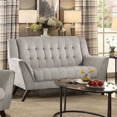 baby living room furniture baby loveseat dove grey loveseats living room furniture living room