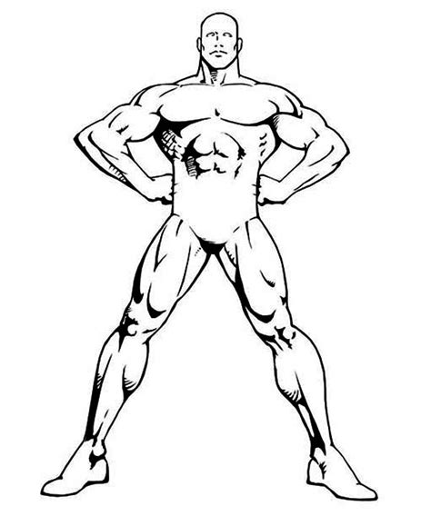 Sketch Of Female Human Body Coloring Pages Human Coloring Page