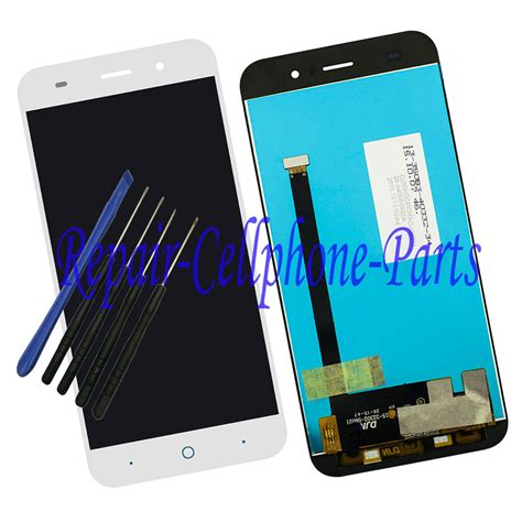 Lcd Touchscreen Zte N939 Complite Original white original new lcd display touch screen digitizer assembly for zte blade x7 d6 v6 z7