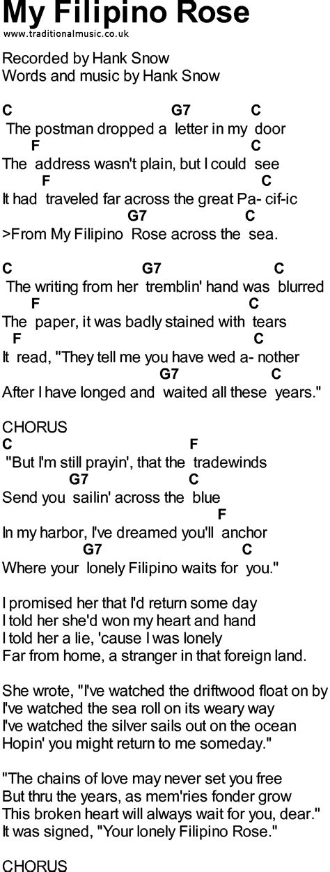 song lyrics tagalog bluegrass guitar chords images