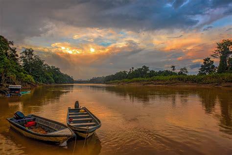 kinabatangan river malaysia blank canvas blank canvas