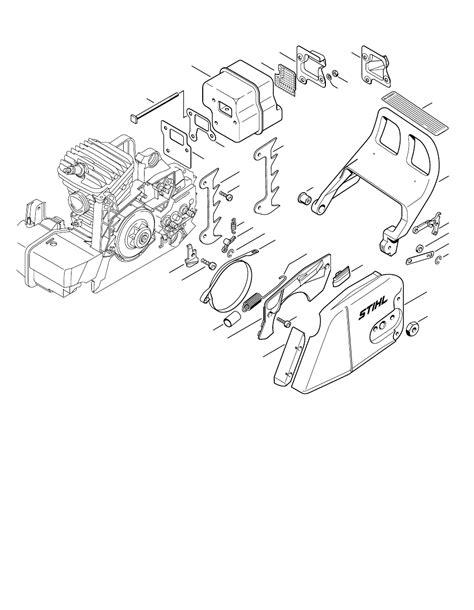 stihl ms290 chainsaw parts diagram stihl lawn and garden equipment ms 290 stihl farm pdf