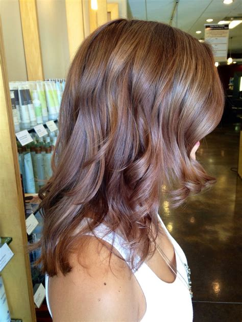 hair color spectrum a warm dimensional chestnut brown with aveda