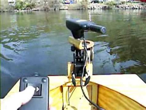electric boat steering toter 2 electric steering wmv youtube