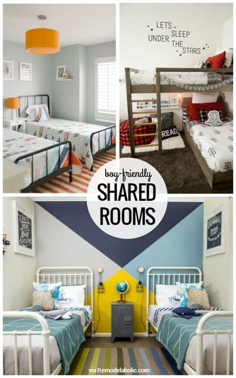 boys bedroom l remodelaholic designing a shared kids space boy s edition