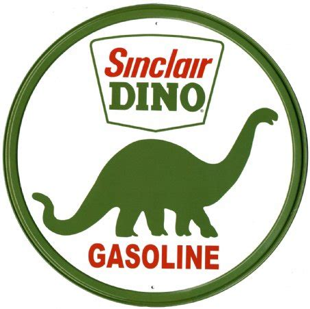 sinclair dino gasoline vintage ads