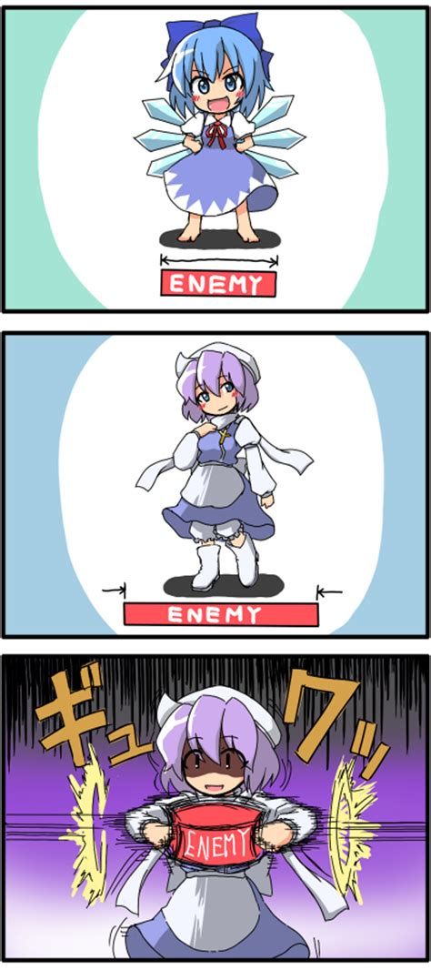 Touhou Memes - letty s hitbox touhou project 東方project know your meme