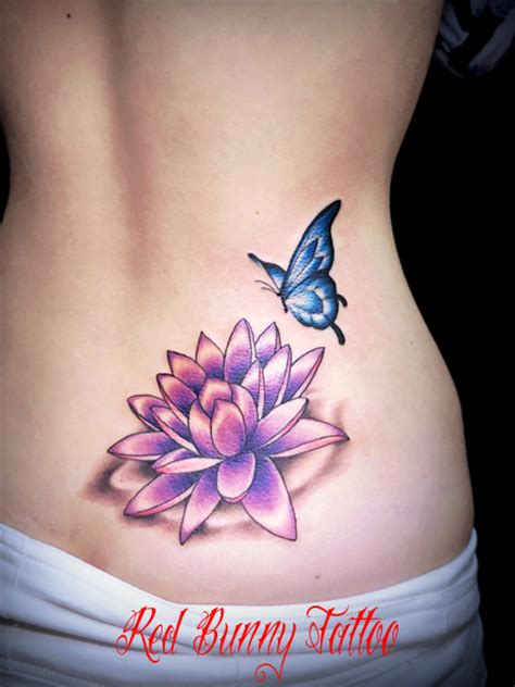 lotus tattoo with butterfly pin by mada ael on tatoo pinterest