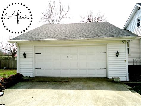 carriage ls home depot bluegrass pearls diy garage door update