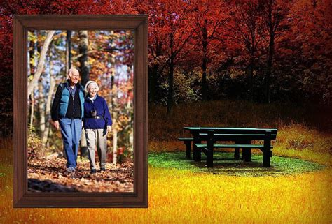 Free Scenery Photo Frames