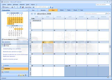 Calendrier Outlook Ouvrir Le Calendrier Dans Une Fen 234 Tre S 233 Par 233 E Outlook 2007
