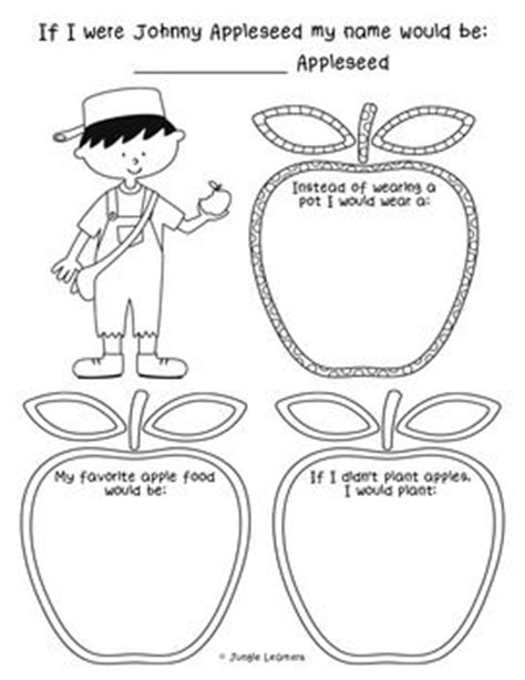 Apple Worksheets Grade by Best 25 Johnny Appleseed Ideas On Johnny