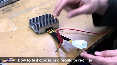 test  diode   regulator rectifier