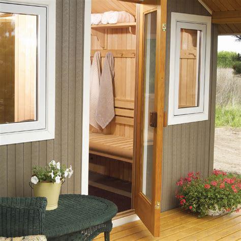 backyard sauna oasis tub sauna finnleo sauna metro