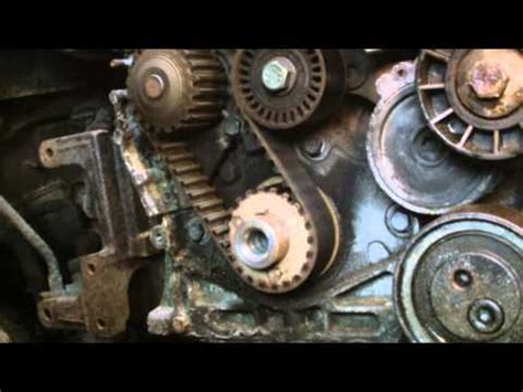 Peugeot 206 Timing Belt Change How To Peugeot 206 20 Hdi Turbo Diesel Cambelt Change