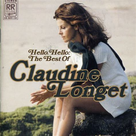 claudine longet french songs hello hello the best of claudine longet claudine longet