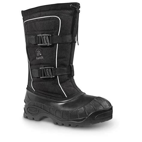 s kamik boots kamik helsinki s waterproof winter boots 609578